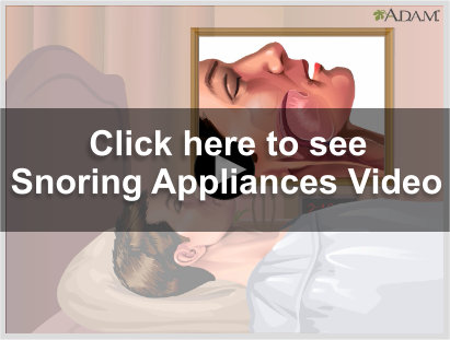 Snoring Video